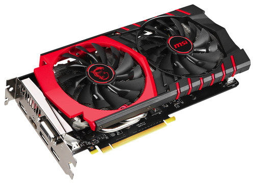 MSI - Nvidia GeForce GTX 960 2GB GDDR5 PCI Express 3.0 Graphics Card - Black/Red