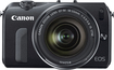 Canon - EOS M 180-Megapixel Digital Camera with EF-M 18-55mm Lens - Black