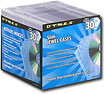 Buy Cases  - Dynex™ 30-Pack Slim Jewel Cases - Clear