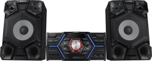 Samsung - Giga 1600W Mini Component Audio System - Black/Gray/Blue
