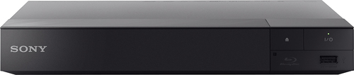 Sony - BDPS6500 – Streaming 4K Upscaling 3D Wi-Fi Built-In Blu-ray Player - Black