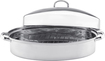Vinaroz - 9-Quart Oval Roaster - Stainless-Steel