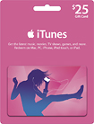 Apple iTunes $25 Gift Card