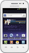 MetroPCS - Samsung Galaxy Admire 4G No-Contract Mobile Phone - White