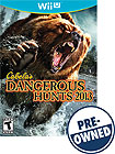 Cabela's Dangerous Hunts 2013 - PRE-OWNED - Nintendo Wii U
