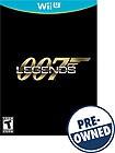 007 Legends - PRE-OWNED - Nintendo Wii U