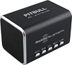 RockDoc - Pitbull BLUETOOTH Portable 2-Way Speaker For Most Bluetooth-Enabled Devices - Black