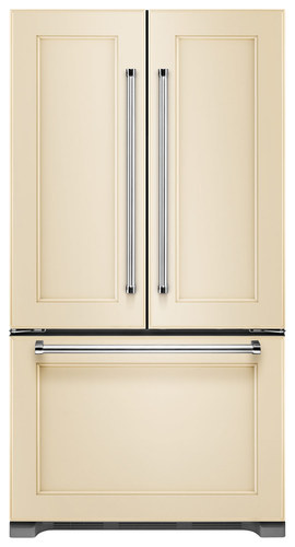 KitchenAid - 21.9 Cu. Ft. Counter-Depth French Door Refrigerator - Custom Panel Ready