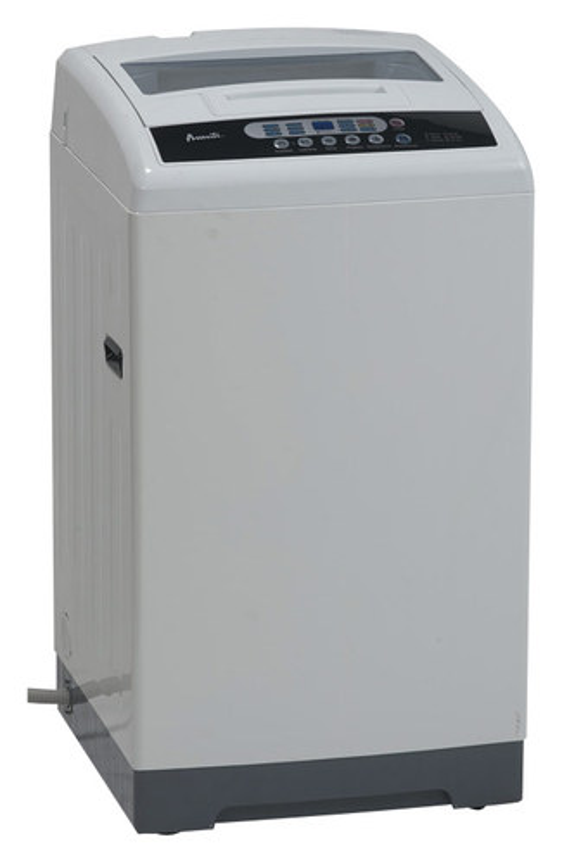 Avanti - 1.6 Cu. Ft. 6-Cycle Top-Loading Washer - White