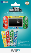HORI - New Super Mario Bros U GamePad Skin & Filter Set for Nintendo Wii U