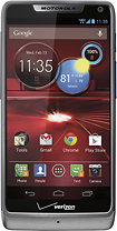 Motorola - DROID RAZR M 4G LTE Mobile Phone - Platinum (Verizon Wireless)