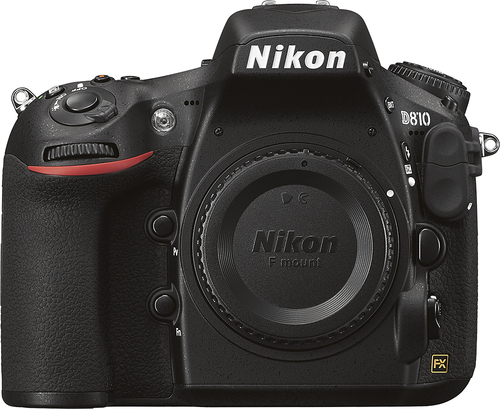 Nikon - D810 Dslr Camera (Body Only) - Black