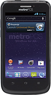 MetroPCS - Samsung ZTE Avid 4G No-Contract Mobile Phone - Black