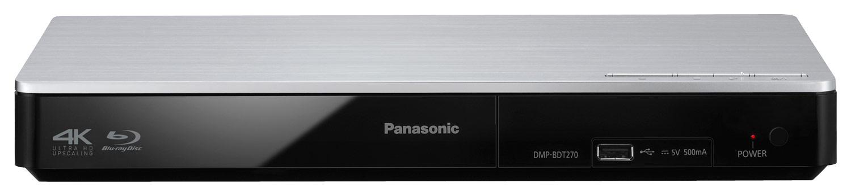 Panasonic - DMP-BDT270 Streaming 3D Wi-Fi Built-In Blu-ray Player - Black