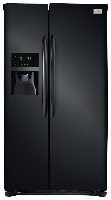 Frigidaire - Gallery 25.6 Cu. Ft. Side-by-Side Refrigerator - Ebony