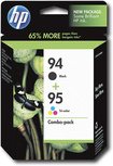 HP - 94/95 Photo Inkjet Cartridge Combo Pack - Black/Tricolor