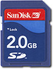 Buy SanDisk 2GB Secure Digital (SD) Memory Card
