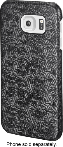 Cole Haan - Caviar Texture Case for Samsung Galaxy S6 Cell Phones - Black