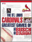 Buy Games - The St. Louis Cardinals: Greatest Games of Busch Stadium 1966-2005 -