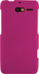 Rocketfish - Hard Shell Case for Motorola DROID RAZR M Mobile Phones - Pink