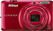 Nikon - Coolpix S6500 16.0-Megapixel Digital Camera - Red