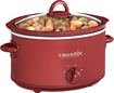 Crock-Pot - 4-Quart Oval Slow Cooker - Red