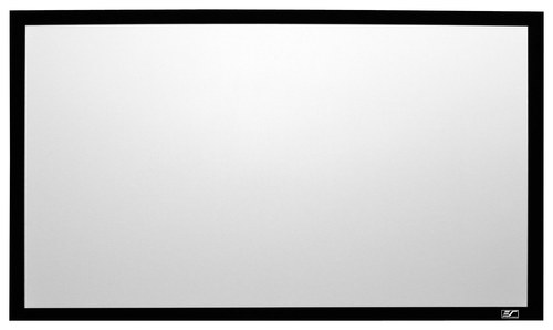 Elite Screens - SableFrame Series Fixed Projector Screen - Black