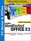 WordPerfect Office X3 Home Edition - Windows