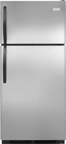 Frigidaire - 16.3 Cu. Ft. Top-Freezer Refrigerator - Stainless Steel (Silver)
