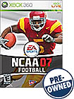 NCAA Football 07 - PRE-OWNED - Xbox 360