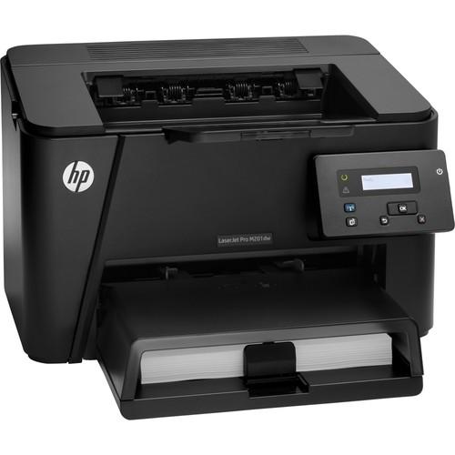 HP - LaserJet Pro m201dw Wireless Black-and-White Printer - Black