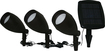 SMART SOLAR INC - Apollo Solar-Powered Spotlights (3-Pack)