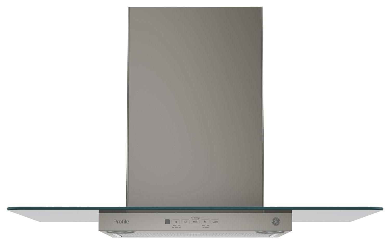 GE - Profile Series 30 Convertible Range Hood - Slate (Grey)