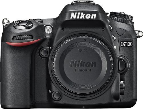 Nikon - D7100 Dslr Camera (Body Only) - Black