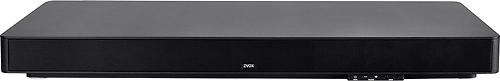 Zvox - SoundBase 670 Soundbar with 3 Built-In Subwoofers - Black