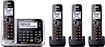 PANASONIC CORP NORTH AMERICA - Link2Cell DECT 6.0 Plus Expandable Cordless Phone System with Digital Answering System