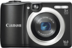 CANON - PowerShot A1400 160-Megapixel Digital Camera - Black