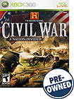 The History Channel Civil War: A Nation Divided - PRE-OWNED - Xbox 360