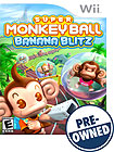 Super Monkey Ball: Banana Blitz - PRE-OWNED - Nintendo Wii