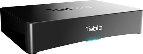 Tablo - 4-Tuner Digital Video Recorder for HDTV Antennas with Wi-Fi - Black