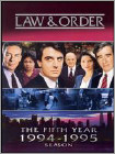 Law & Order: The Fifth Year [5 Discs] - Fullscreen - DVD