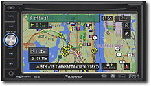 Pioneer - In-Dash Satellite Radio-Ready/CD/DVD Player/GPS Receiver - AVIC-D3 :  gps receiver player avic