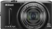 Nikon - Coolpix S9500 18.1-Megapixel Digital Camera - Black