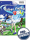 Super Swing Golf - PRE-OWNED - Nintendo Wii