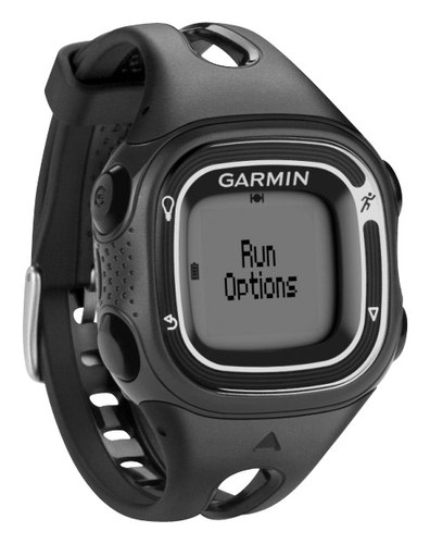 Garmin - Forerunner 10 GPS Sport Watch - Black/Silver