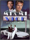 Miami Vice: Season Five [5 Discs] - Fullscreen Subtitle AC3 Dolby - DVD
