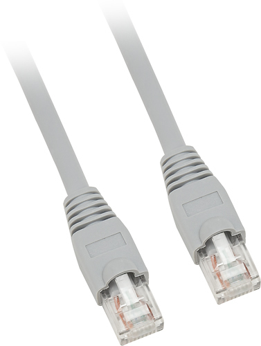 Dynex™ - 50' Cat-6 Network Cable - Gray