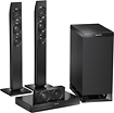 "Panasonic - 3.1-Channel Soundbar System with 6-1/2"" Wireless Subwoofer"