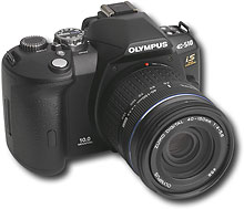 Olympus - EVOLT 10.0MP Digital SLR Camera with 2 Lenses - E-510 :  best buy electronics lenses slr