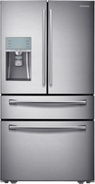 Samsung - 305 Cu Ft 4-Door French Door Refrigerator with Sparkling Water Dispenser - Stainless-Steel